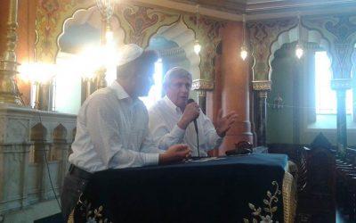 Sofia Central Synagogue with Prof Ivo Hristov