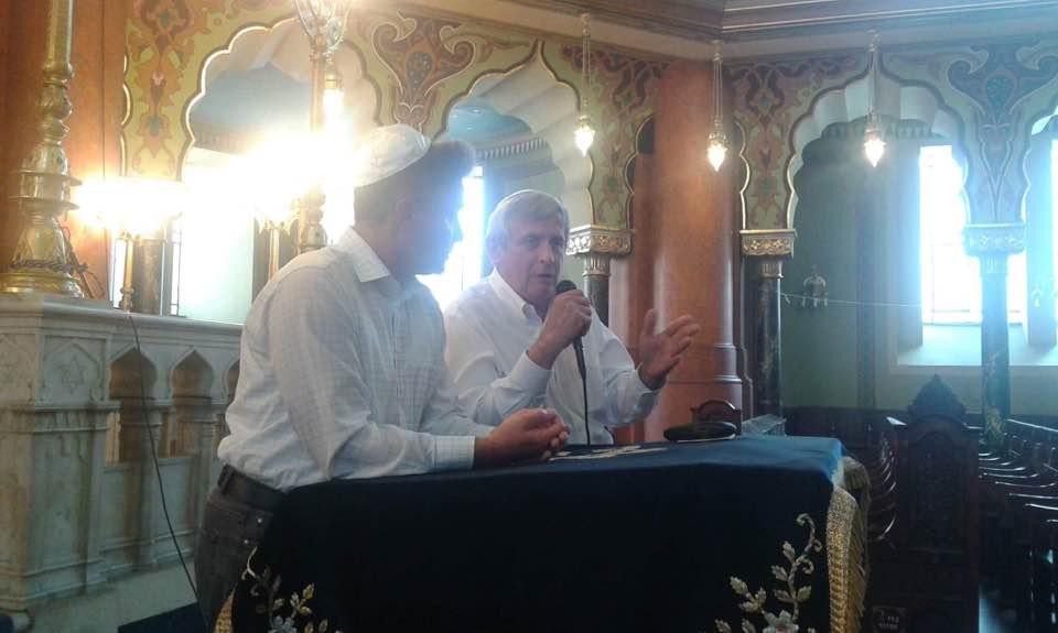 Sofia Central Synagogue with Prof Ivo Hristov - Foundation