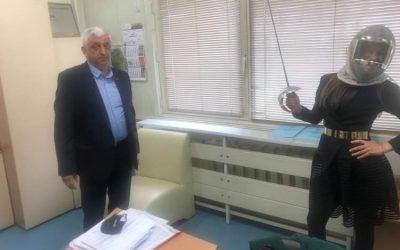 "Professor Krasimir Petkov, Dean of Sports, National Sports Academy ""Vasil Levski ""."