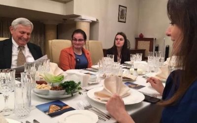 Passover at the Residence of the Azerbaijan Ambassador – Nargiz Gurbanova